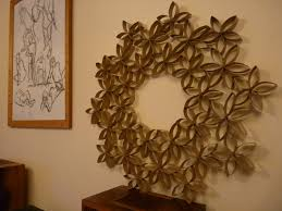 Toilet Paper Roll Art Growing On The Walls Toilet Toilet Paper And Paper Decorations