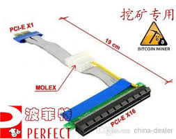 19cm long pci e 1x to 16x flexible ribbon extender cable molex for 100pcs lot 19cm long pci e 1x to 16x flexible ribbon extender cable molex