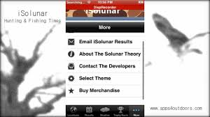 Solar Lunar Hunting Chart Isolunar Hunting Fishing Times App Review