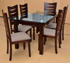 awesome home design furniture dining table designs glass top wooden dining table designs wooden glass