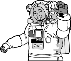 Astronaut clipart community helper for free download and use ...