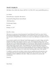 Outreach Worker Cover Letter Outreach Worker Cover Letter Cover