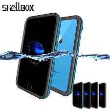 <b>SHELLBOX Universal Waterproof Case</b> For iPhone 7 8 Plus X XS ...