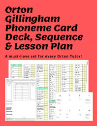 Orton Gillingham Sequence Chart Orton Gillingham Sequence Worksheets Teaching Resources Tpt