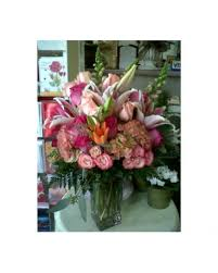 quick view profoundly pink bouquet by vivian