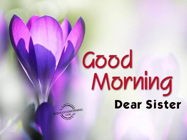 good morning shayari in hindi for siste