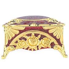Buy Zerone Jewelry Box, <b>Zinc Alloy European</b> Style Classic Retro ...