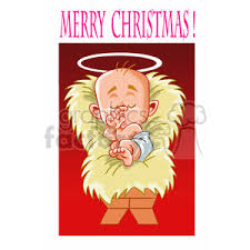 merry christmas jesus clipart. Contemporary Jesus Merry Christmas Baby Jesus Cartoon Inside Merry Christmas Jesus Clipart Y