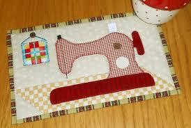 Vintage Sewing Machine Quilt Patterns & Sewing Machine Mug Rug Adamdwight.com