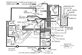repair guides vacuum diagrams vacuum diagrams autozone com 1 emission control vacuum schematic 1987 90 4 2l engine and automatic transmission