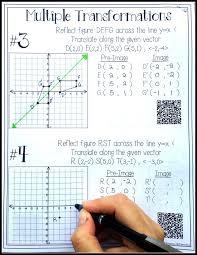 Translation Dilation Rotation And Reflection Worksheet Worksheets ...