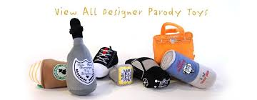 View All Designer Parody Toys - Haute Diggity Dog