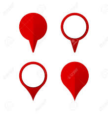 Collection Of Pinpoint Icon Can Be Used For Logo Or Various Map
