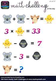 21 best enrichment math images on Pinterest   Math challenge ...