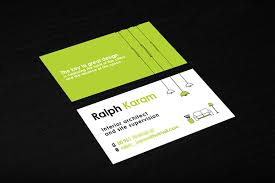 Business Cards Interior Design