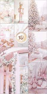 Christmas Pink And White Wallpapers ...