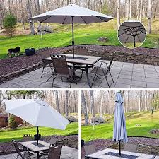 blissun patio garden parasol