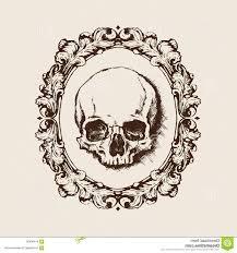 1560x1668 stock ilration human skull filigree frame vector ilration