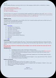 Resume Format For B Tech Students What Is The Best Resume Format