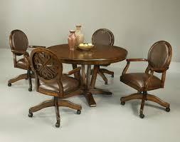 kitchen ideas rolling kitchen chairs incredible kitchen table sets with caster chairs inspiring dining room for