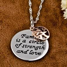jewels family tree evolees com 925 sterling silver round pendant with family tree charm family