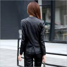 m 5xl women leather jacket skin coat plus