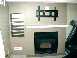 mounting tv on brick fireplace mount on brick fireplace mount mount brick fireplace hide wires fireplace mount can you mount