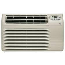 wall ac heat unit mounted air conditioner heater combo design ge 10 200 btu 115 volt