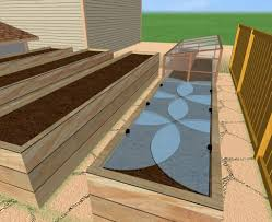 Small Picture A Raised Bed Garden with Cold Frame and Drip Irrigation Cold Climate