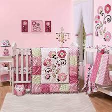 lainey 6 piece baby crib bedding set