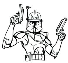 Clone Wars Coloring Page Dr Schulz