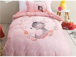 girls duvet covers. 30 Deer Pattern Purified Cotton Princess Style 3-Piece Kids Duvet Covers/Bedding Sets Girls Covers