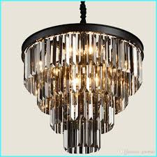 american black iron art crystal chandeliers chandelier chandelier light fixtures bedroom lamp smoke gray crystal lamp small chandeliers bedroom chandeliers