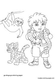 21 Go Diego Go Coloring Pages Toystoinspireinfo