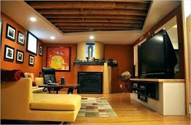 ideas for unfinished basement walls. Astonishing Painting Basement Walls Ideas Unfinished Wall For