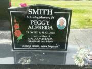 Peggy Alfreda Smith 1921 - 2003 BillionGraves Record