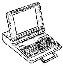 Реферат Устройство компьютера com Банк рефератов  Если вы много путешествуете можете брать компьютер с собой В этом случае вам подойдет компьютер блокнотного типа Он имеет размеры небольшой книги рис