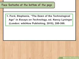 ways to cite an essay wikihow image titled cite an essay step 18