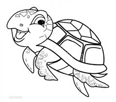 Small Picture 20 Free Printable Turtle Coloring Pages EverFreeColoringcom