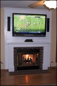 mounting tv over gas fireplace