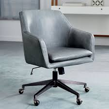 office leather chair. Helvetica Leather Office Chair C