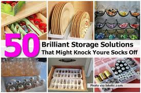 Click here for 50+ BRILLIANT Storage & Organization Solutions from  mixer2mower.com