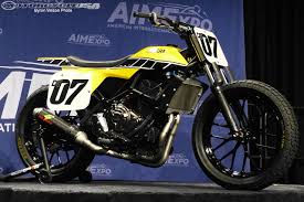 yamaha unveils dt 07 flat track concept motorcycle usa