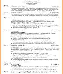 Harvard Business School Resume Format Pdf Hbs Resume Format Resume