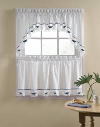 Sage Green Kitchen Curtains Kitchen Exquisite Three Piece Tier Kitchen Curtain Set Beauty Of