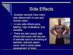effects of anabolic steroid use
