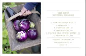 Kitchen Garden Book The New Kitchen Garden Otter Farm