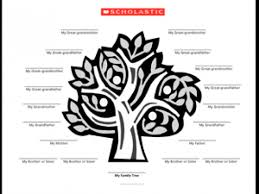 photo family tree template family tree template tree parents scholastic com