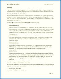 Resumesoft Office Skills Examples Template Suite Computer Microsoft
