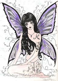 Dark Fairy Free Coloring Pages On Art Coloring Pages